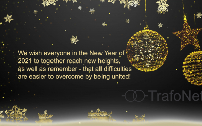 TrafoNet team wishes You Happy and successful New Year!