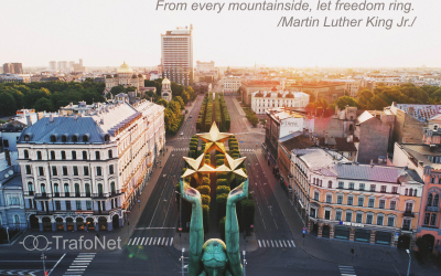 BEST WISHES ON RESTORATION OF INDEPENDENCE OF THE REPUBLIC OF LATVIA, FROM TRAFONET TEAM!