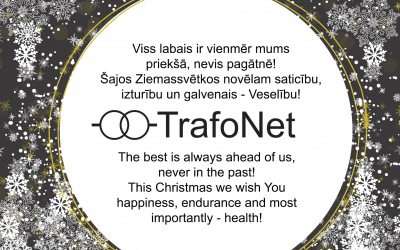 TrafoNet team wishes Merry Christmas!