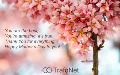 Dear mothers, TrafoNet team wishes You happy Mother's Day!